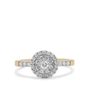 1/2ct Diamond 18K Gold Ring