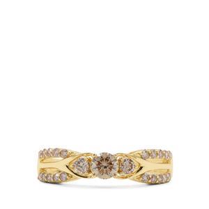Argyle Diamond Ring in 18K Gold 0.75ct