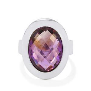 9ct Bahia Amethyst Sterling Silver Aryonna Ring