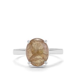 4.64ct 'The Jewel of Merelani' Tanzanite Sterling Silver Ring