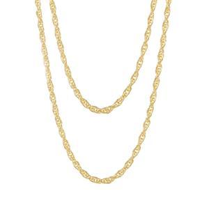 """30"""" Midas Couture Multi Strand Cordino Chain 5.03g"""