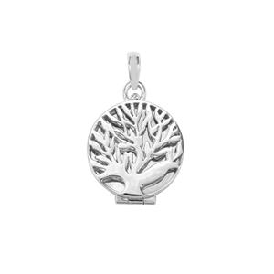 Tree of Life Sterling Silver Pendant and Chain set with Perfume Pads