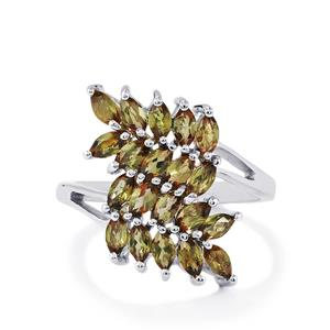 1.59ct Gouveia Andalusite Sterling Silver Ring