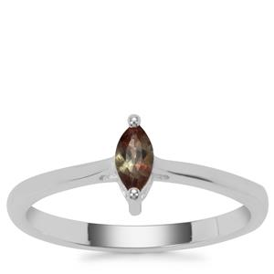 Sopa Andalusite Ring in Sterling Silver 0.22ct