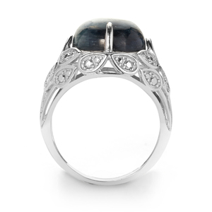 Daha Kyanite Ring in Sterling Silver 10.62cts