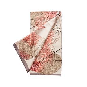 Destello Leaf Print Scarf  (.01=Blush / .02=Orange / .03=Lilac)
