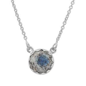K2 Jasper Necklace in Sterling Silver 4cts
