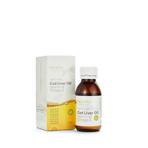 3 Pack Orange Flavour Cod Liver Oil - Liquid Supplement 90ml