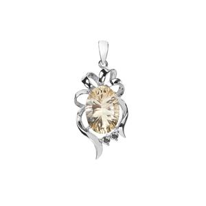 Mexican Sunstone Pendant in Sterling Silver 4.95cts