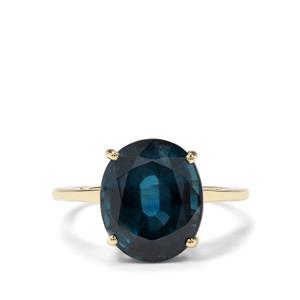 6.32ct Orissa Kyanite 9K Gold Tomas Rae Ring