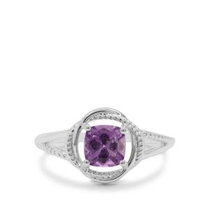 Moroccan Amethyst Ring in Sterling Silver 0.87ct