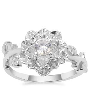 Ratanakiri Zircon Ring in Sterling Silver 0.25ct