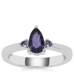 Bengal Iolite Ring with Iolite in Sterling Silver 0.70ct