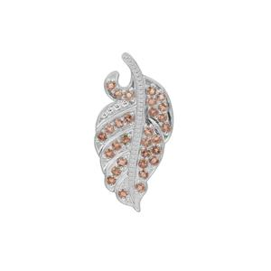 Sopa Andalusite Pendant in Sterling Silver 2cts