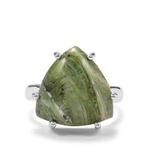 9ct Chemin Opal Sterling Silver Aryonna Ring (F)