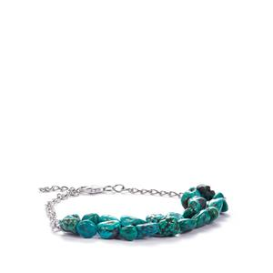 Turquoise Bracelet in Sterling Silver 29.25cts