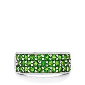 Chrome Diopside Ring in Sterling Silver 1.73cts