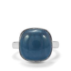 Bengal Blue Opal Ring in Sterling Silver 8.11cts