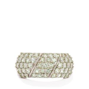 1.62ct Lemanja Amblygonite Sterling Silver Ring