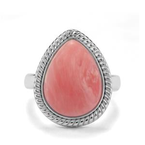 4.74ct Pink Lady Opal Sterling Silver Aryonna Ring