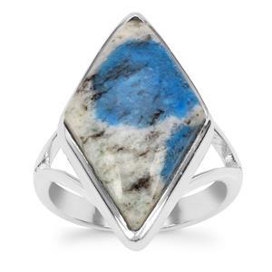 K2 Jasper Ring in Sterling Silver 10cts