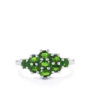 1.76ct Chrome Diopside Sterling Silver Ring