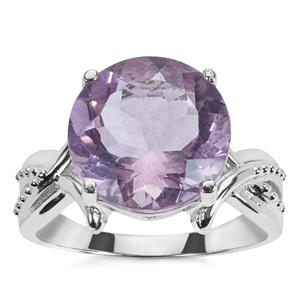 Purple Fluorite Ring in Sterling Silver 7.23cts