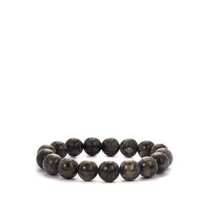 Larvikite Stretchable Bracelet 223.50cts