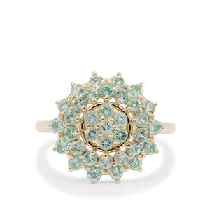 Aquaiba™ Beryl Ring  in 9K Gold 1.15cts