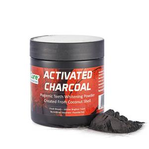 Activated Charcoal Natural Teeth Whitener