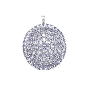 14.44ct Tanzanite Sterling Silver Pendant