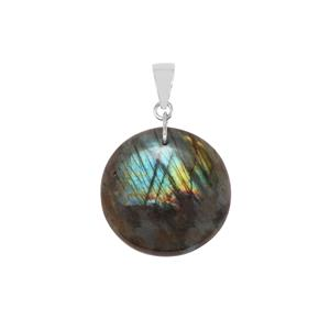 Labradorite Pendant in Sterling Silver 32.50cts