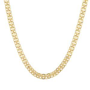"""24"""" Midas Dettaglio Diamond Cut Bismark Chain 3.34g"""