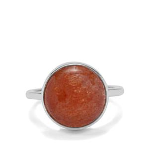 7.85ct Pana Sunstone Sterling Silver Aryonna Ring