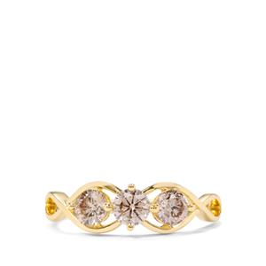 3/4ct Argyle Diamond 18K Gold Ring