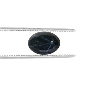 Blue Star Sapphire Loose stone  1.25cts