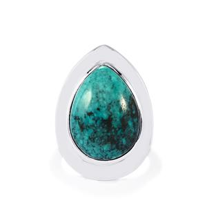 10ct Tibetan Turquoise Sterling Silver Aryonna Ring