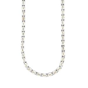 Singida Tanzanian Zircon Necklace in Sterling Silver 82.03cts