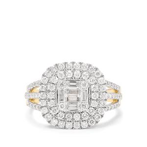 1.08ct Diamond 18K Gold Tomas Rae Ring