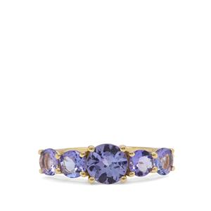 Tanzanite Ring in 9K Gold 2.10cts
