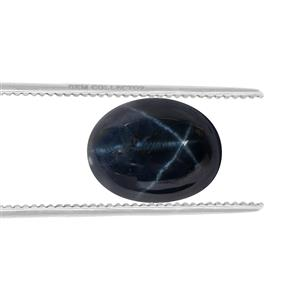 Blue Star Sapphire GC loose stone  3.30cts