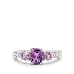 1.35ct Moroccan Amethyst Sterling Silver Ring