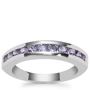 Tanzanite Ring in Sterling Silver 0.82ct