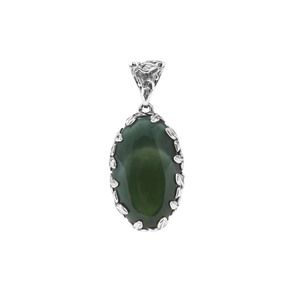 Imperial Chalcedony Pendant in Sterling Silver 16.59cts