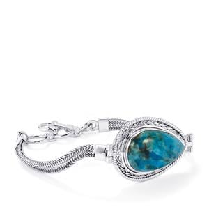 Fort-Dauphin Apatite Bracelet in Sterling Silver 23cts