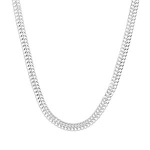 "20"" Sterling Silver Diamond Cut Arrow Chain 2.90g"