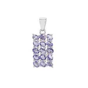 Tanzanite Pendant in Sterling Silver 2.52cts