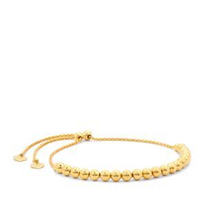"""10"""" Midas Altro Slider Ball Bracelet 4.77g"""
