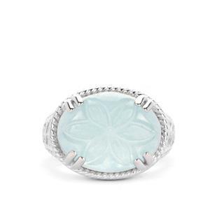 8.70ct Aquamarine Sterling Silver Ring