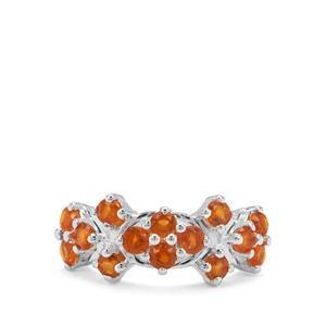 2.06ct Loliondo Orange Kyanite Sterling Silver Ring